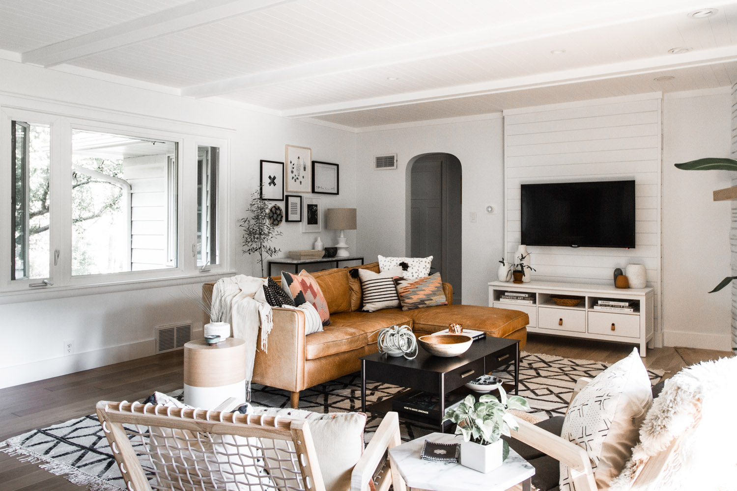 west elm living rooms room design 2018 lessons learned from a renovation front main midwest malibu cottage reveal