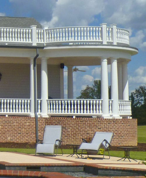 Curved Porch Railing: the Ultimate in Exterior