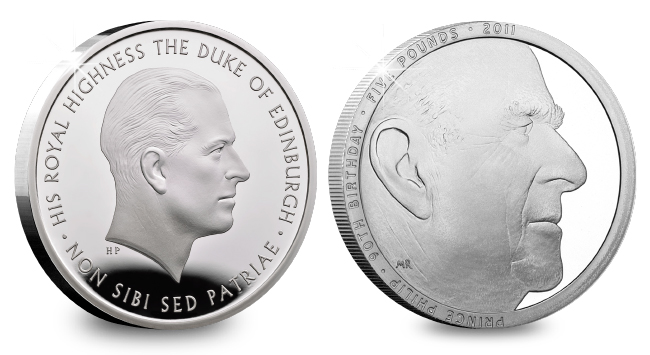 DN Prince Philip – a Life in Coins coin obituary blog images 2 - Prince Philip (1921 - 2021) - a Life in Coins
