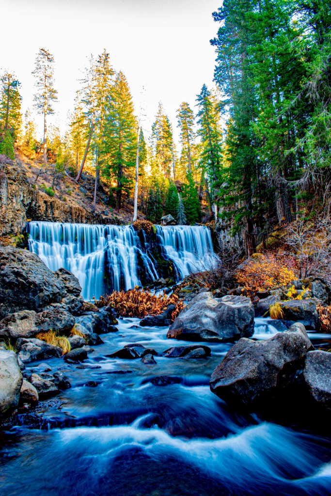 Middle Falls, along the McCloud River