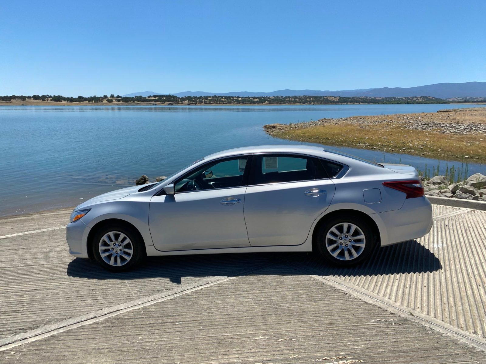 2018 Nissan Altima at Black Butte Lake