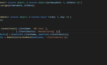 TypeScript keyof in generic constraint.