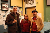 Mary Halvorson Trio in the WFMU studio