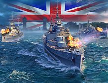 World Of Warships — British Cruisers
