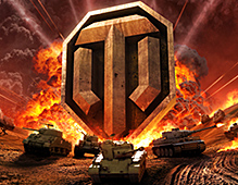 World Of Tanks — Big Logo Boom