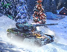 World Of Tanks — Christmas