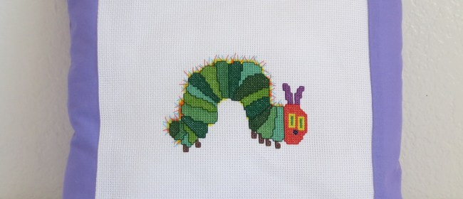 Hungry Caterpillar Pillow