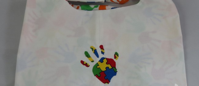 Autism Handprint Sling Bag