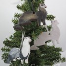 Ferret Ornaments