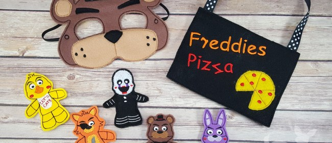Five Nights At Freddy's Finger Puppets