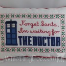 Forget Santa Doctor Who Pillow