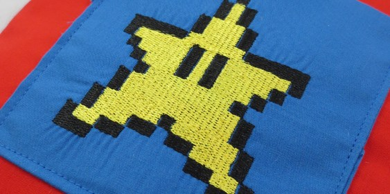 Mario Star Tooth Fairy Pillow v2