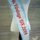 Ms Vintage 2014 Pageant Sash