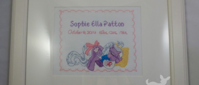 Sophie Ella Noddins Cross Stitch