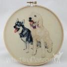 Tallulah Belle & Skadi Hoop Art