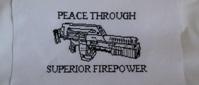 Peace Through Superior Firepower Airsoft
