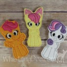 Cutie Mark Crusaders Finger Puppets