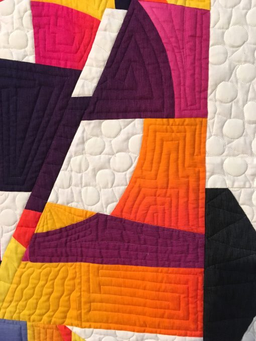 Mid Century Quilt : century, quilt, Modern, Quilts, Quilt, Showcase, Whole, Circle, Studio