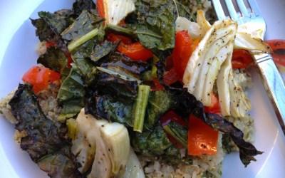 Vegetable Garden Quinoa Bowl