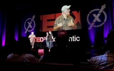 Ted Mid Atlantic 2017: Meeting Jose Andres, Tim Kaine and other super heroes of our times!