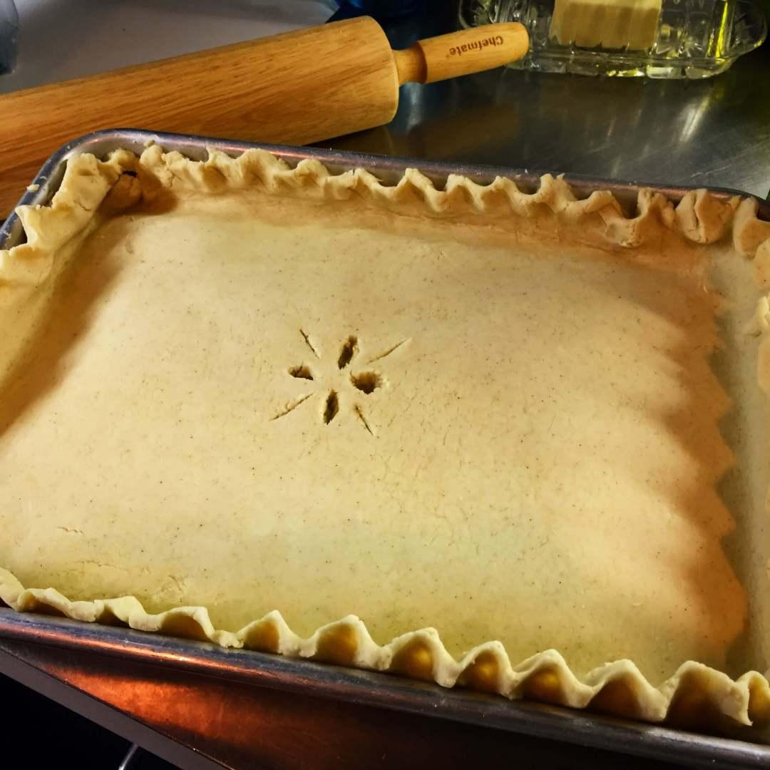 Veggie Gluten Free Pot Pie
