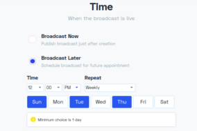 broadcast-repetition-chatbot