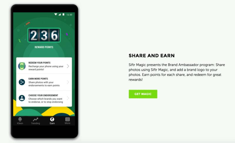 siftr magic - app incentives