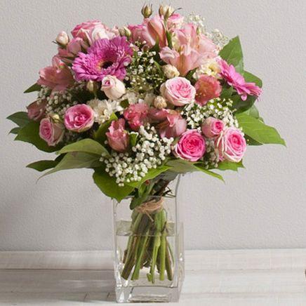 Bouquet Bonheur 2BO InterfloraWIKIFLEURS VOTRE FLEURISTE