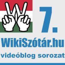 Szótár videóblog sorozat 7.