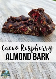Cacao Raspberry Almond Bark