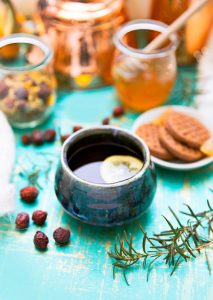 Mommy Time Tea Blend | Between meals, kids, errands, housekeeping, extracurriculars, and everything else I do as a mom... I am *tired*. I need to take time for myself -- to BE instead of DO. I love this soothing, relaxing, yet uplifting herbal tea blend for my ME time! | WildernessFamilyNaturals.com