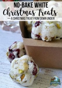 No-Bake White Christmas Treats — a Christmas treat from Down Under!