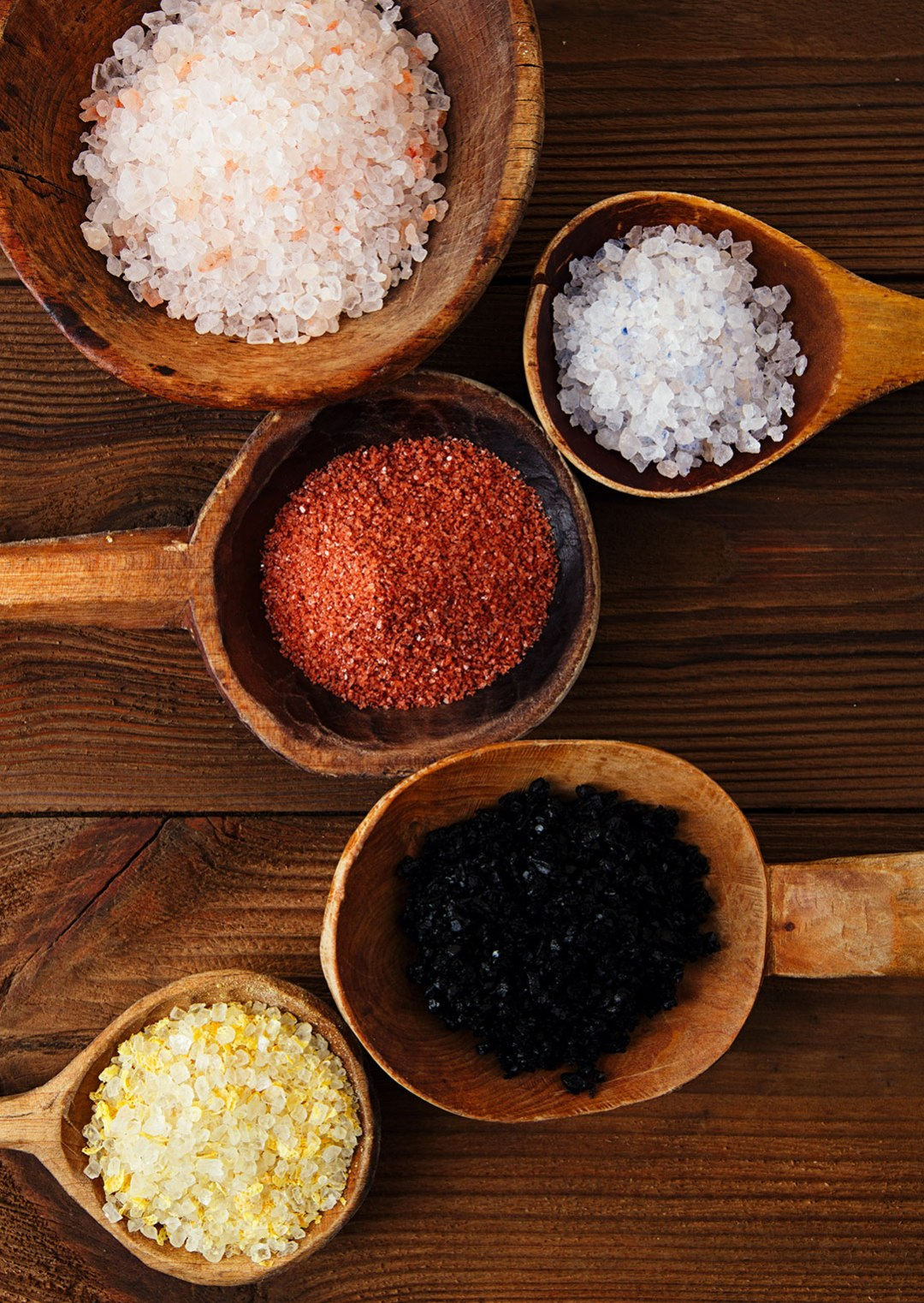 The Different Types Of Salt + The Problems With Table Salt | Salt isn't just a requirement to enhance the flavor of a dish. It contains up to 60 important minerals that are crucial for human health. Learn about the different types of healthy, mineral-rich salts and how they compare with iodized table salt, plus the problems with table salt. | WildernessFamilyNaturals.com
