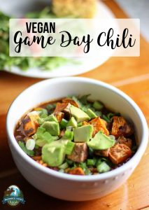 Vegan Game Day Chili