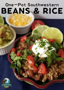 One-Pot Southwestern Beans & Rice