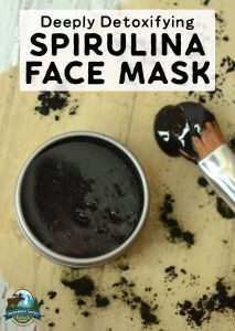 Deeply Detoxifying Spirulina Face Mask