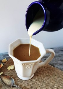 Dairy-Free White Chocolate Coffee Creamer