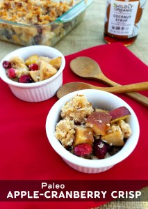 Paleo Apple-Cranberry Crisp