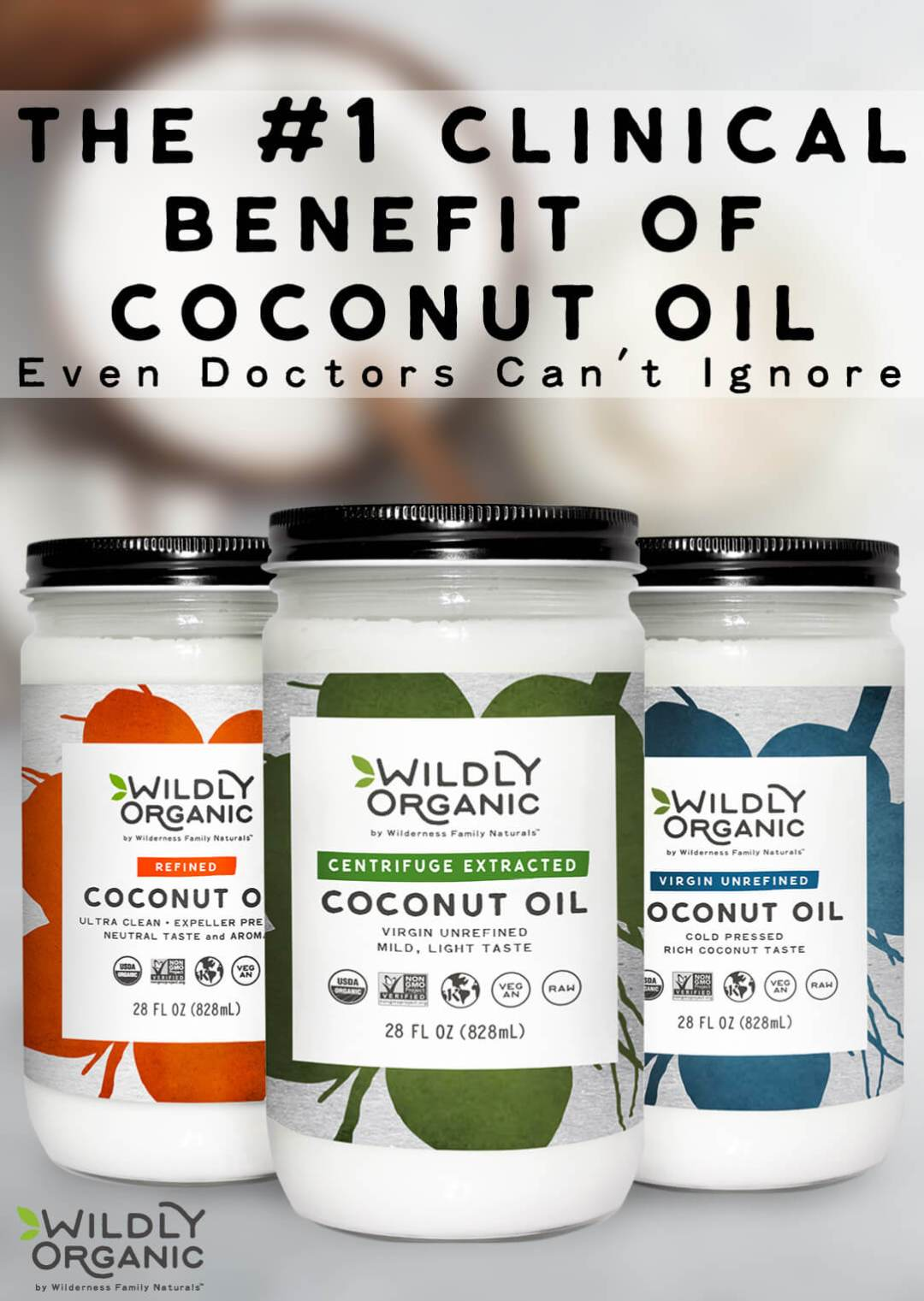 The #1 Clinical Benefit Of Coconut Oil Even Doctors Can't Ignore | Learn about the #1 clinical benefit of coconut oil this doctor can't ignore. Dr. John uses WFN's coconut oil in patients with systemic yeast overgrowth, neuro-degenerative disorders, gut imbalances, and more. And this one nutrient is why!
