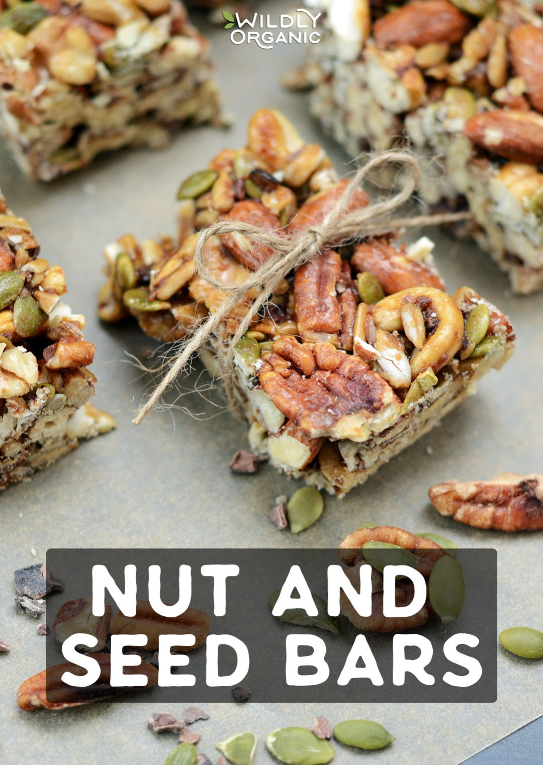 Homemade nut and seed bars are a nutrient dense, portable snack that will satisfy hunger and provide long-lasting energy. They pack a ton of flavor and are full of nutritious nuts and seeds that provide healthy fats and antioxidants!