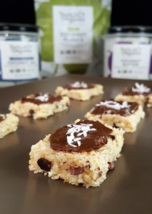 No-Bake Fudgy Frosted Coconut Bites {gluten-free, dairy-free, vegan, no refined sugar}