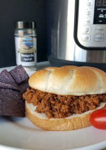 Instant Pot Sloppy Joes {gluten-free, dairy-free, and ready in under 30 minutes!}