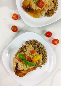 Creamy Italian Chicken and Wild Rice {Gluten-Free}