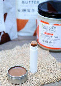 DIY Homemade Chocolate Lip Balm