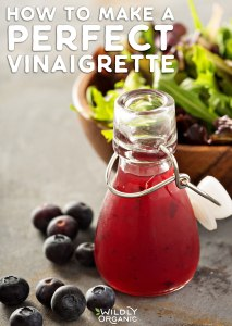 Photo of blueberry vinaigrette