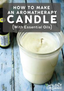 How To Make An Aromatherapy Candle With Essential Oilsblog post image