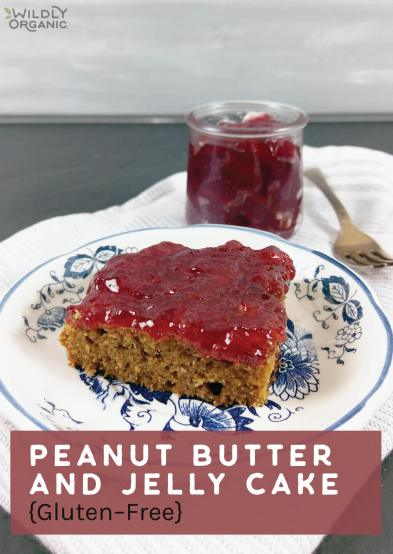 Peanut Butter and Jelly Cake {Gluten-Free}