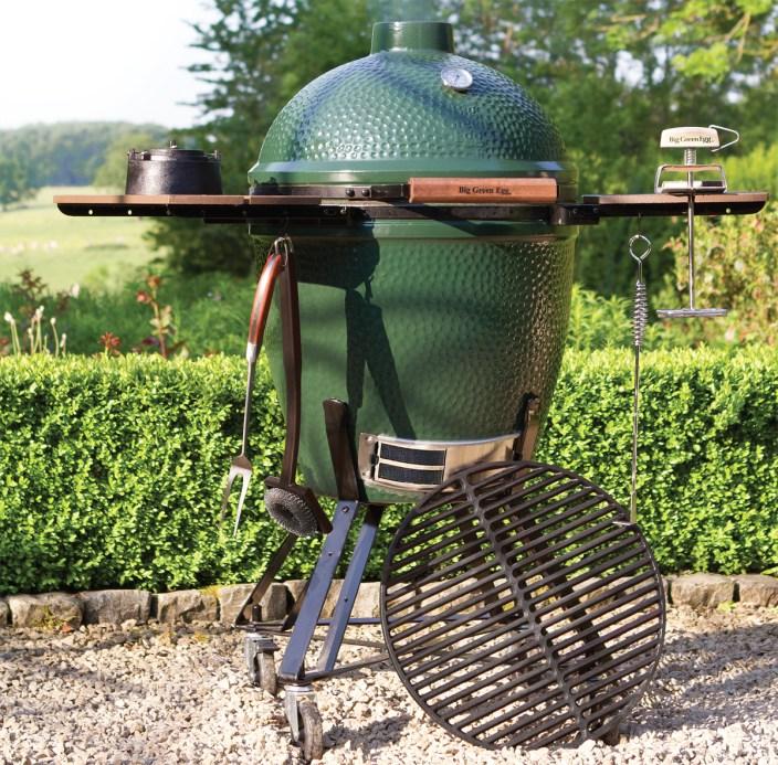 green egg barbecue