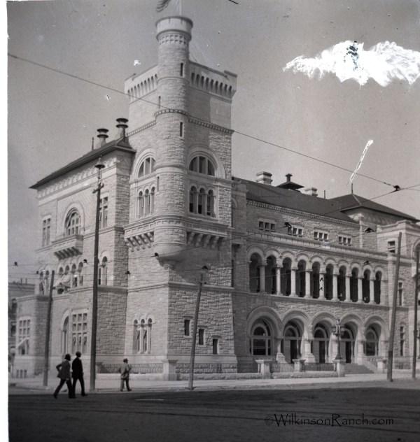 San Antonio Post Office c 1889