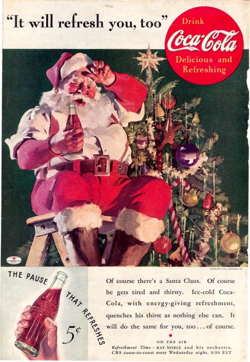 1935 Coca-Cola Santa It will refresh you too sundbloom flickr